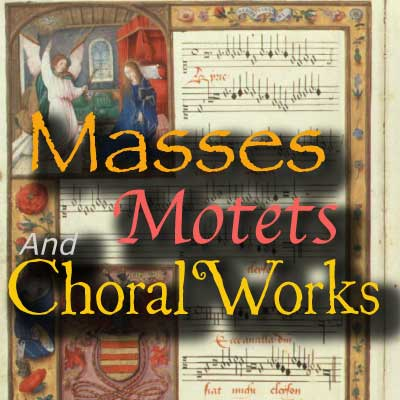 CALM RADIO - MASSES MOTETS AND CHORAL WORKS - Sampler