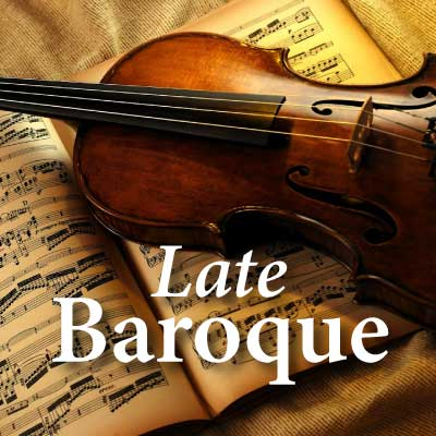 CALM RADIO - LATE BAROQUE - Sampler