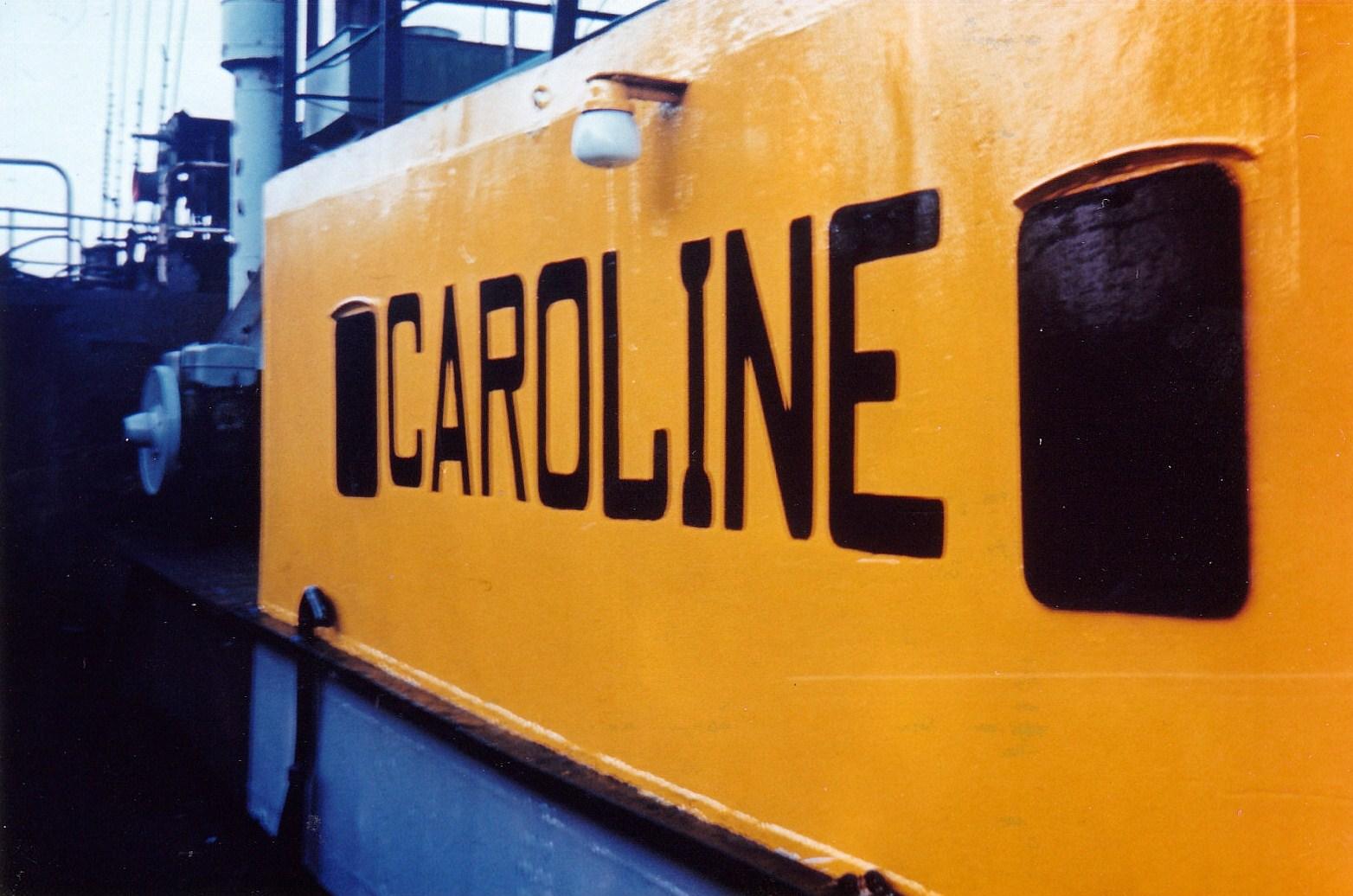 Radio  Caroline 319  Breskens - NL 320 R