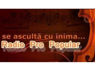Radio Pro Popular - Romania - www.RadioProPopular.com