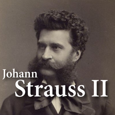 CALM RADIO - JOHANN STRAUSS II - Sampler