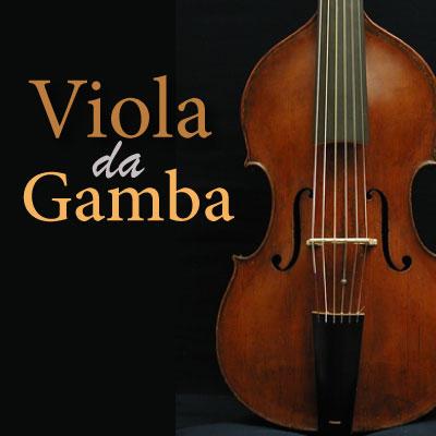 CALM RADIO - VIOLA DA GAMBA - Sampler