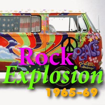 CALM RADIO - ROCK EXPLOSION 1965 - 69 - Sampler