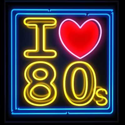 CALM RADIO - I LOVE 80'S - Sampler