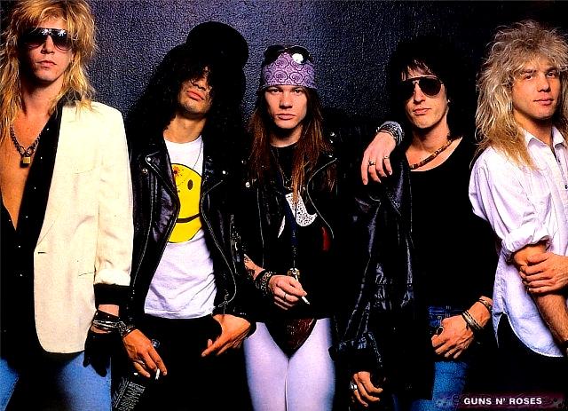 Pochette Don'T Cry Guns N' Roses