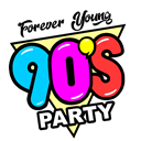 90's PARTY logo
