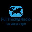FullThrottleRadio- For Virtual Flight! logo