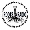 roots acoustic evening radio logo