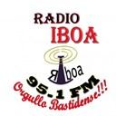 Iboa 95.1 FM logo
