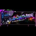 Blue-Crazy-Radio logo