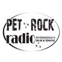 #pet#rock#radio logo