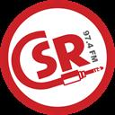 CSR (Canterbury Student Radio) logo