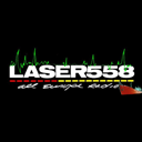 LASER 558 ALL EUROPE RADIO logo