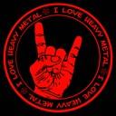 I love Heavy Metal logo