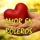 AMOR EN BOLEROS logo