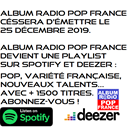 Album Radio Pop France logo