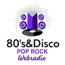 80's & Disco Pop Rock logo