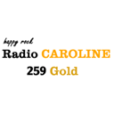 Radio Caroline 259 Gold logo
