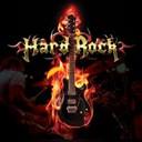 100% HARD ROCK logo