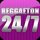 Reggaeton 24-7 logo