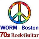 WORM Boston - 70s Guitar Rock 1970s logo