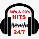 80's & 90's Hits logo