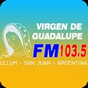 FM VIRGEN DE GUADALUPE 103.5 ULLUM SAN JUAN logo