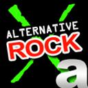 A Better Alternative X-Rock Station logo