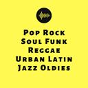 Pop Rock Soul Funk Reggae Urban Latin Jazz Oldies logo