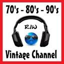 70s 80s 90s RIW VINTAGE CHANNEL logo