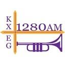 1280 KXEG - The Trumpet logo