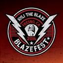 KKBZ The Blaze 105.1 logo