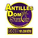 Antilles Dom Station Gold Zouk Rétro logo