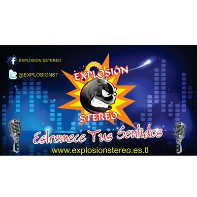 Explosion Stereo Web