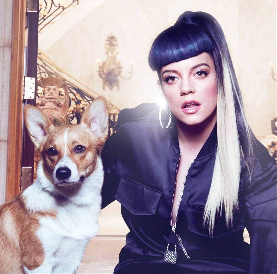 Pochette : Lily Allen - Somewhere Only We Know